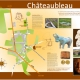 Panneaux touristiques : illustration des cartes et graphisme
