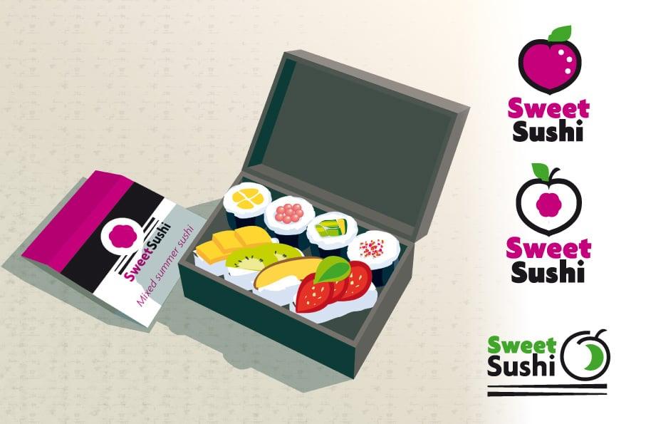 logos Sweet sushis