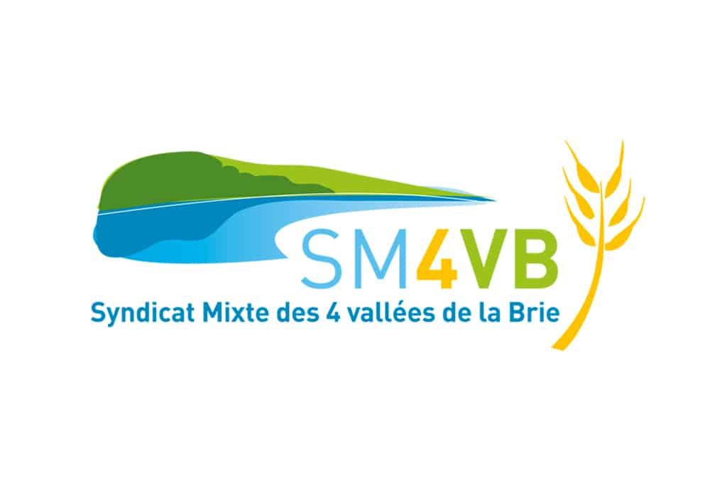 logo syndicat mixte des 4 vallées de la Brie