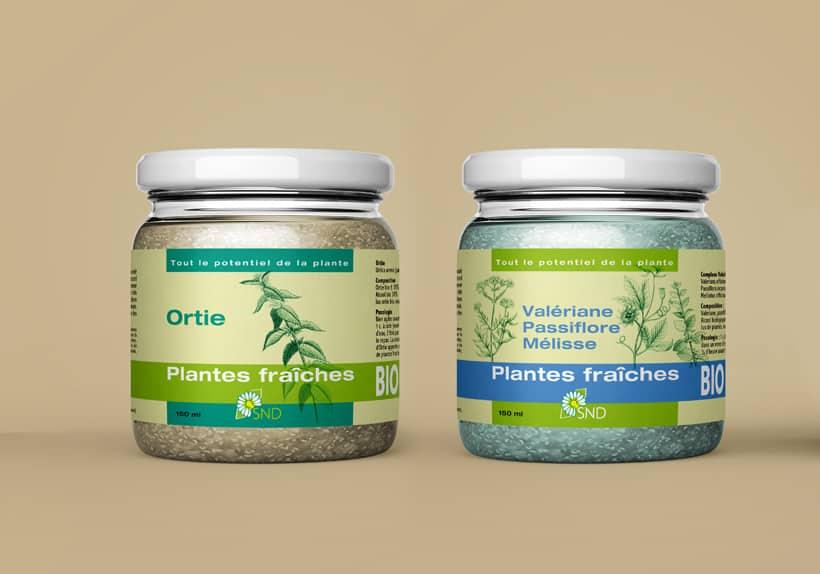 plantes fraîches compléments alimentaires naturels