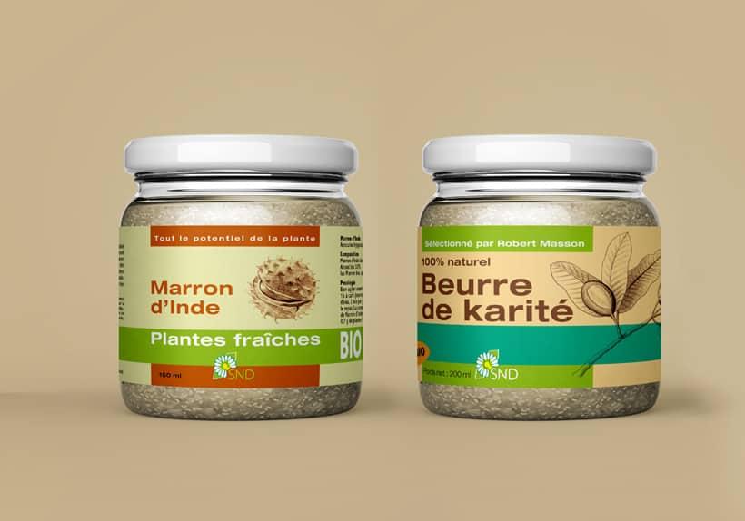 plantes fraîches compléments alimentaires naturels marron d'inde beurre de karité