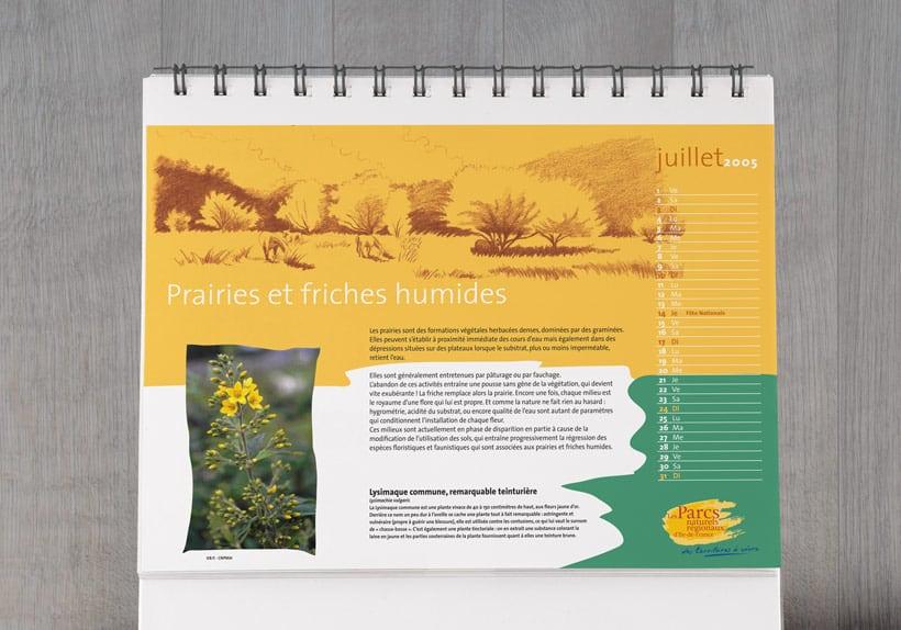 calendrier des parcs naturels régionaux d'ile de france
