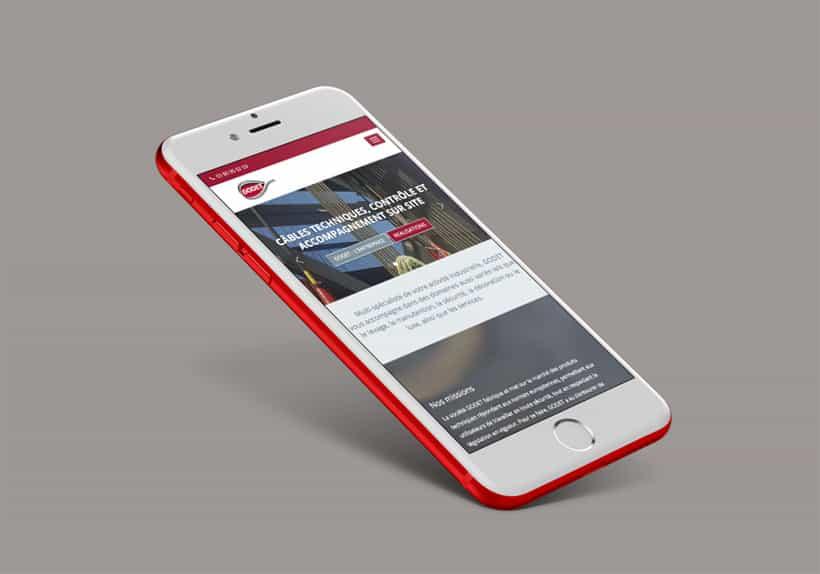 IPhone visuel site godet.fr