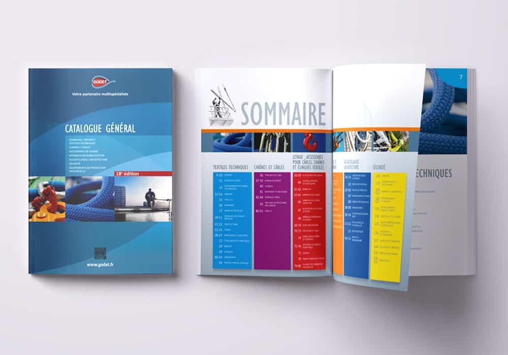 image catalogue général godet 2018