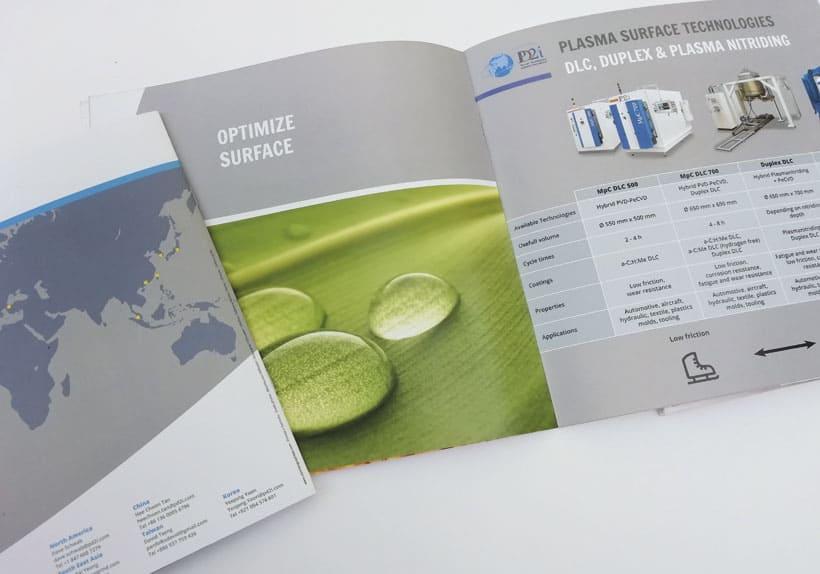 brochure anglais chinois technique société pd2i