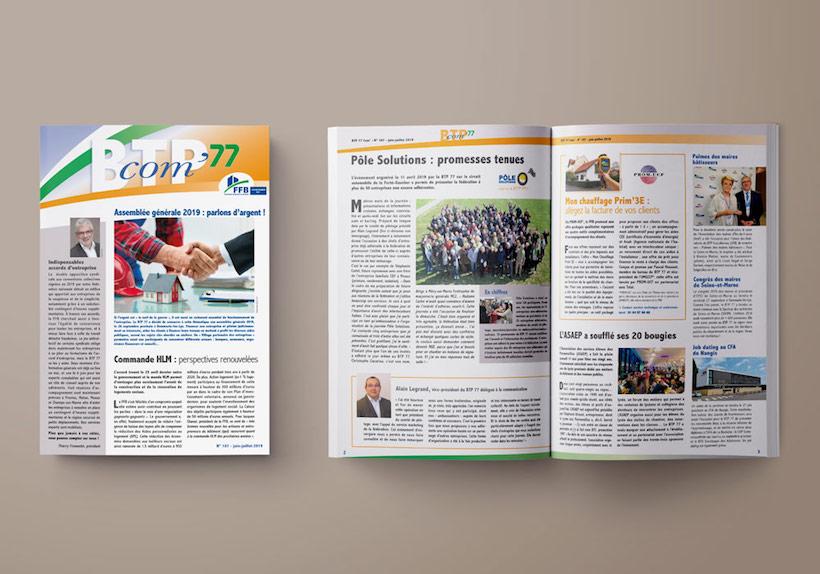 journal interne BTP 77 BTP com'