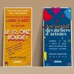 flyers art dinan créateurs et artistes Dinan