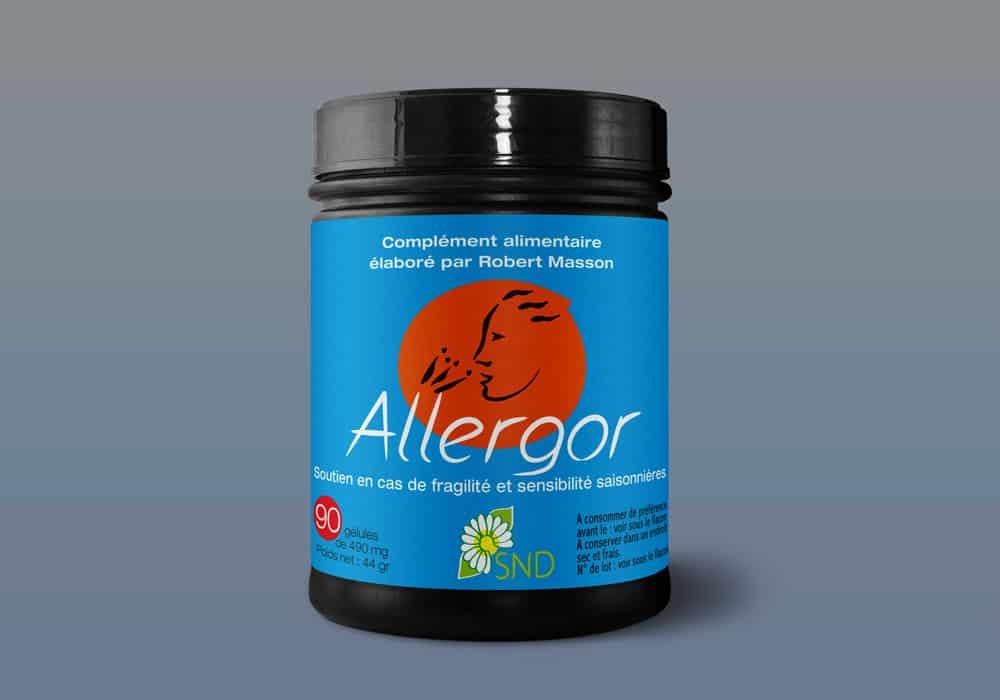 pot allergor complément alimentaire du Dr robert masson
